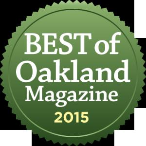 Best of Oakland Magazine logo