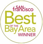 Best of bay area winner logo