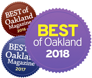 Best of Oakland 2016, 2017, and 2018